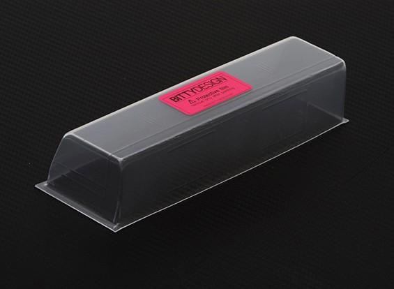 BittydesignリアHARDウィング190ミリメートル1/10ツーリングカーボディ用 - 充電