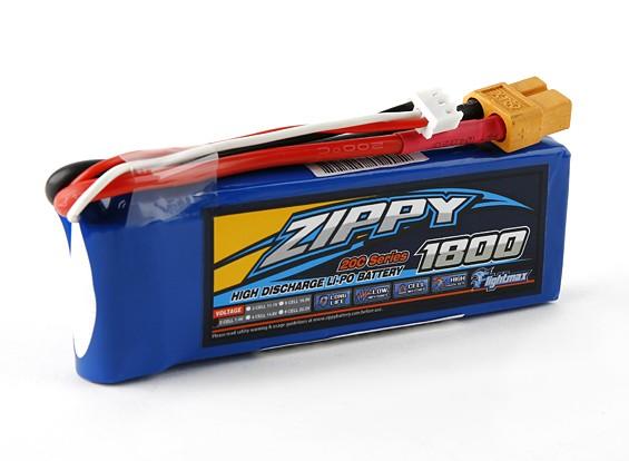 ジッピーFlightmax 1800mAhの2S1P 20C