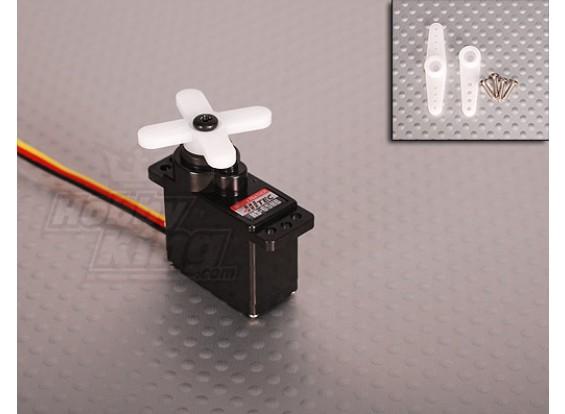 ハイテックHS-65HBマイクロカーボギアサーボ1.8キロ/ 0.14sec / 11グラム