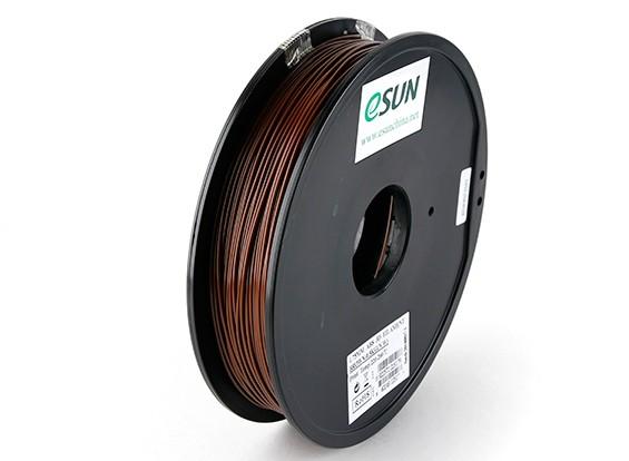 ESUN 3Dプリンターフィラメントブラウン1.75ミリメートルABS 0.5KGスプール