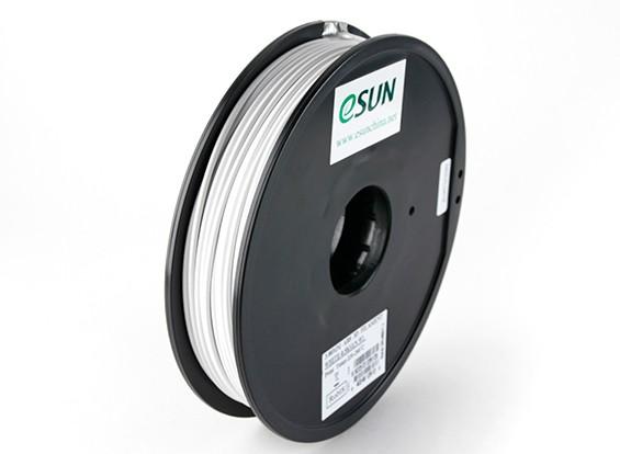 ESUN 3Dプリンタのフィラメントホワイト3ミリメートルABS 0.5KGスプール
