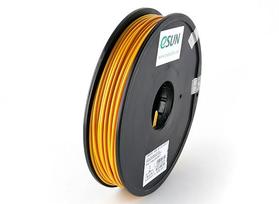 ESUN 3Dプリンタのフィラメントゴールド3ミリメートルABS 0.5KGスプール