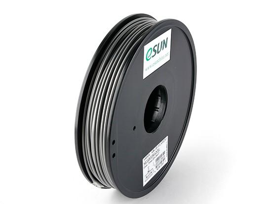 ESUN 3Dプリンタのフィラメントシルバー3ミリメートルABS 0.5KGスプール