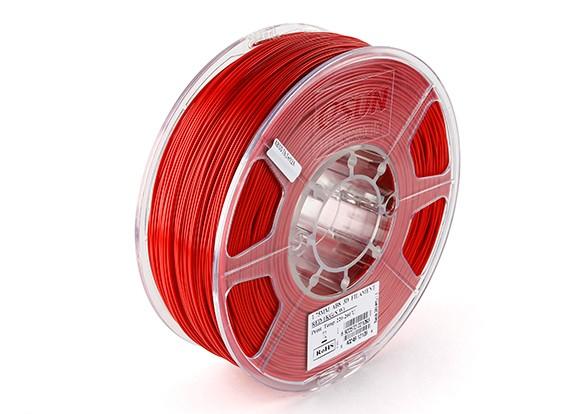 ESUN 3Dプリンタのフィラメントレッド1.75ミリメートルABS 1KGロール