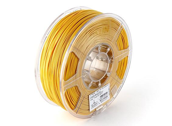 ESUN 3Dプリンタフィラメントゴールド1.75ミリメートルABS 1KGロール