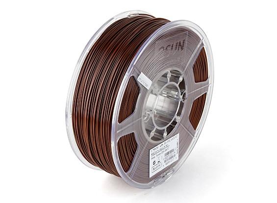 ESUN 3Dプリンターフィラメントブラウン1.75ミリメートルABS 1KGロール