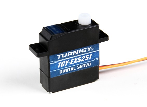 Turnigy™TGY- EX5251ツインベアリングDSマイクロサーボ2.2キロ/ 0.10sec /10.5g
