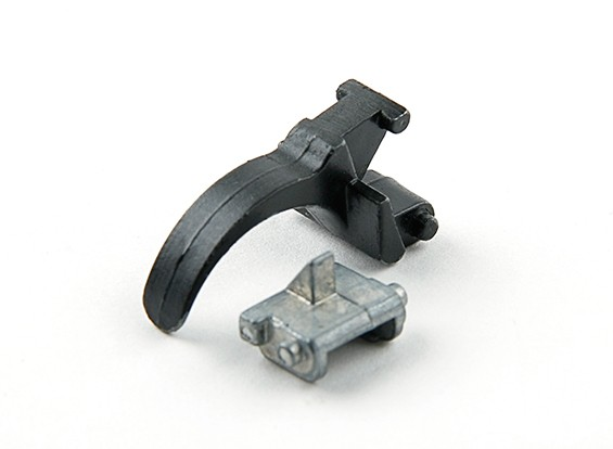 AK47 / AK74 AEGのためのコアエアガンスチールトリガー