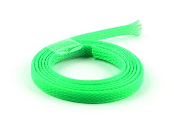ワイヤーメッシュガードネオングリーン6ミリメートル(1メートル)
