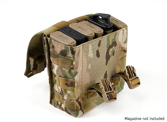 SWATコーデュラモール弾薬ポーチ(マルチカム)