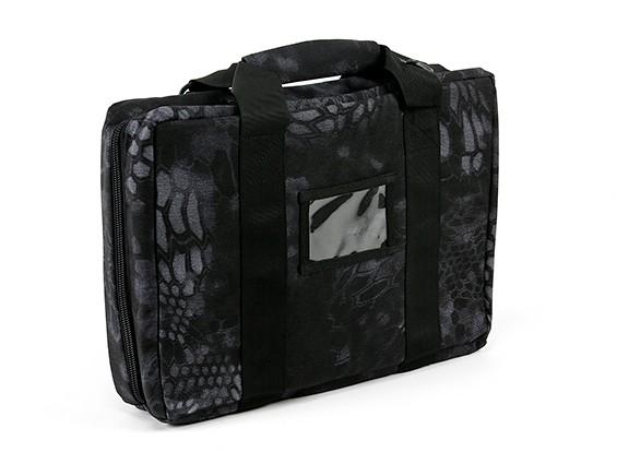 バッグを運ぶSWATのMP7(Kryptekテュポン)