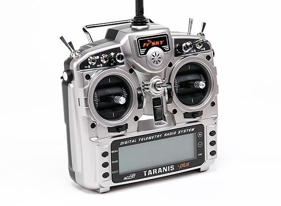 FrSky 2.4GHzのACCST TARANIS X9D PLUSデジタルテレメトリー無線システム(モード2)