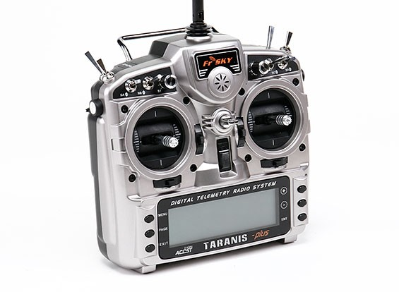 FrSky 2.4GHzのACCST TARANIS X9D PLUSデジタルテレメトリー無線システム(モード1)