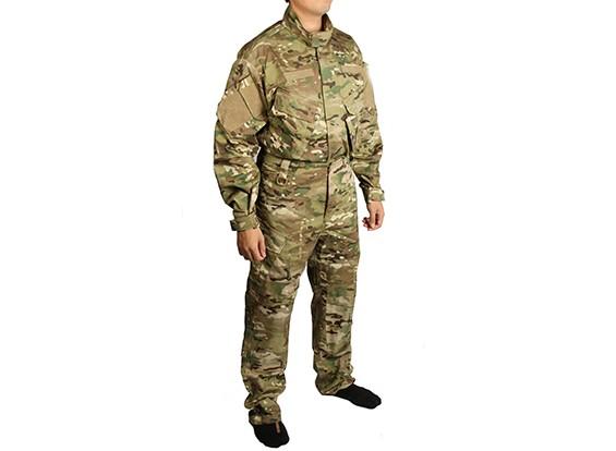 エマーソンR6フィールドBDU制服セット(マルチカム、Sサイズ)