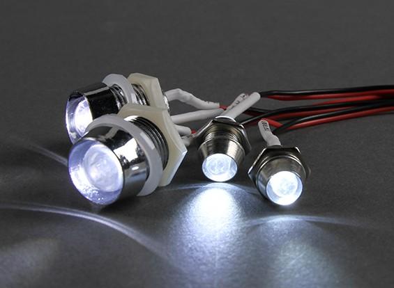 GTパワー4ピースRCカー用スーパーブライトLED照明セット
