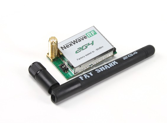ファットシャークNexwave RF 2.4 GHzの受信モジュール