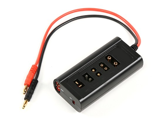 Turnigyマルチプラグバッテリ充電アダプター