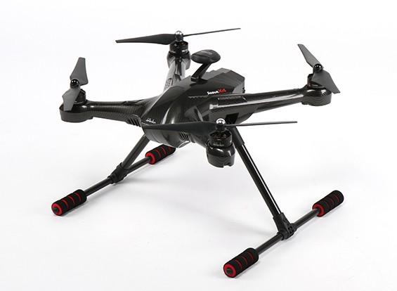 WalkeraのスカウトX4空撮ビデオクワッドローターワット/ 2.4GHzのブルートゥースデータリンク、バッテリーと充電器(B&F)