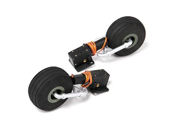 HobbyKing™C-47 / DC-3 1600ミリメートル - リトラクトセット
