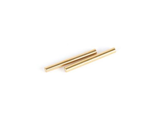 VBCレーシングFirebolt DM  - のTiNコーティングされた2.5x29.8mmサスペンションピン(2個)
