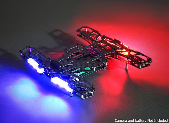 LED付きQuanum NEON 250カーボンレースフレームキット