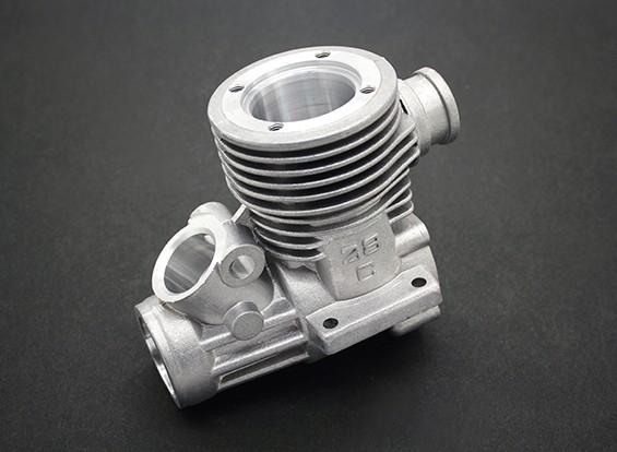 エンジンのクランクケース - バッシャーセイバートゥース1/8スケールトラギーナイトロ