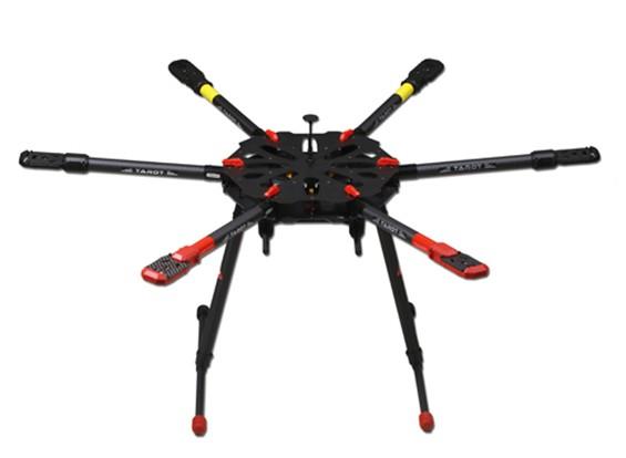 タロットX6ヘビーリフトHexacopterフレームTL6X001