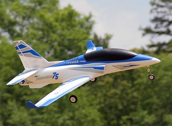 HobbyKing™トルネードバイパージェット75ミリメートル6S EDFスポーツ1100ミリメートル(PNF)