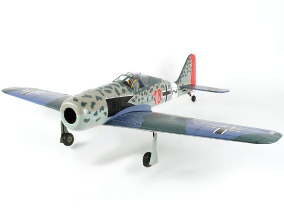 フォッケウルフFW-190Aバルサ0.46サイズGP / EPの1500ミリメートル(ARF)