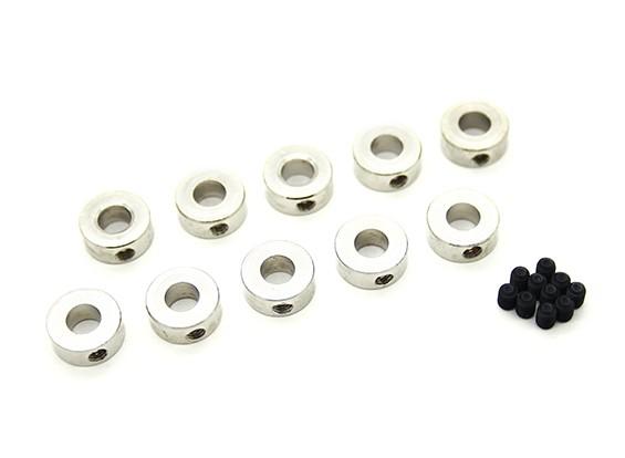 5ミリメートルアクスルのランディングギアホイール停止の首輪(10個入り)