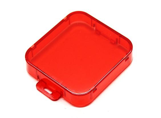 GoProヒーロー3plus用赤レンズフィルター