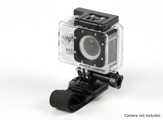 GoProまたはTurnigyアクションカム用のフックとループリストバンドストラップ