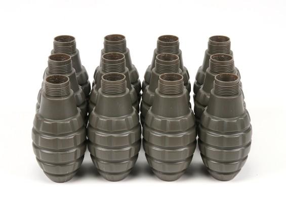 APS ThunderBパイナップルスタイルスペアシェル(12個/袋)