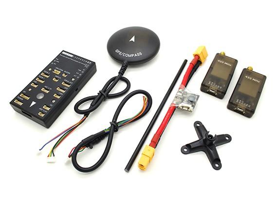 テレメトリおよびGPSとHKPilot32自律走行車の32Bitコントロールセット(433MHzの)