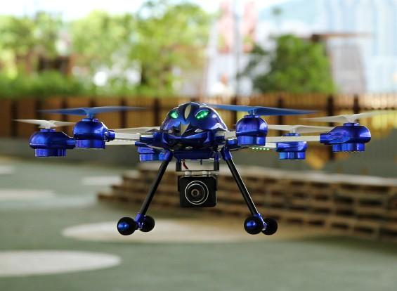 5.8GHz帯FPVシステム/モード2 / EUプラグ(RTF)でW609-8パスファインダー2 Hexcopter