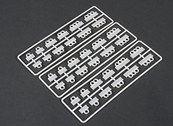 垂直マウントケーブルTidyのクリップセット(36枚)