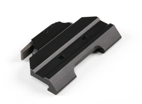 AIM-O 12033 ACOGのためのクイックリリースマウント(ブラック)