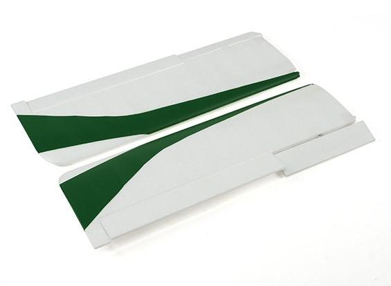 Durafly®™ツンドラ - コントロールホーンのw /メインウィングセット