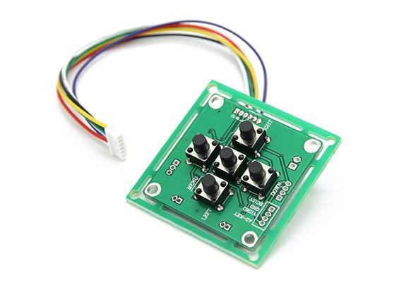 ソニーEXviewHAD CCDIIカメラボード用のOSDコントローラー。