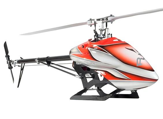 RJX Vectronの520電気フライバーレス3Dヘリコプターキット(オレンジ)