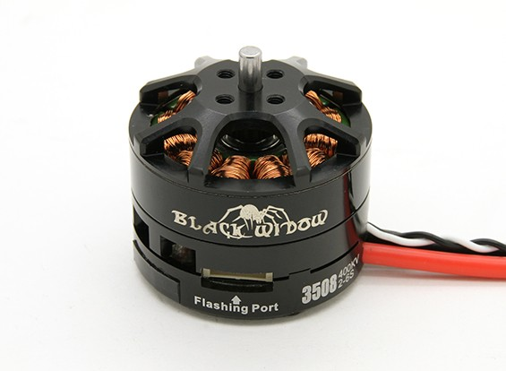 内蔵ESC CW / CCWとブラックウィドウ3508-400Kv