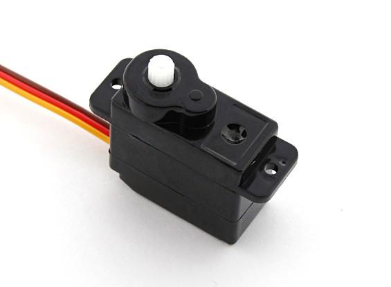 EMマイクロサーボ(ブラック)9グラム/ 1.5キロ/ .12sec