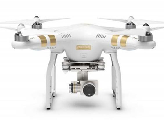 安定4KカメラでDJIファントム3プロフェッショナルクワッドローター(RTF)