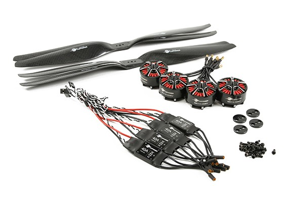 LDPOWER D1200 Multicopter電源システム4114-320kv(15x5.5)(4パック)