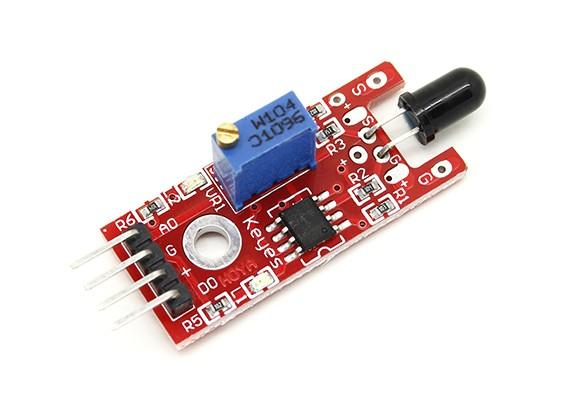 Arduinoのためキーズ炎センサモジュール