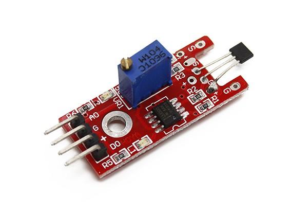 Arduinoのためキーズリニア磁気ホルツァーセンサ