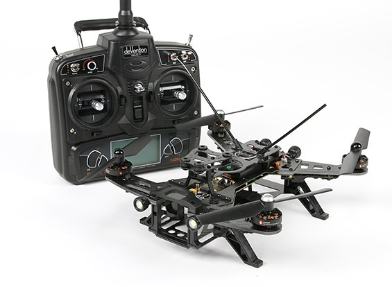 Walkeraのランナー250 FPVレーシングクワッドローターモード/ワット1ディーヴォ7 /バッテリー/充電器(RTF)