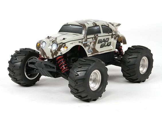バッシャー1/16 4WDミニモンスタートラックV2  - バートバグ(RTR)