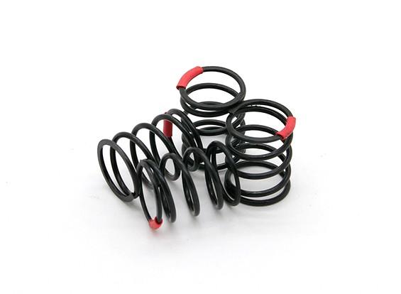 TrackStarサスペンションスプリング黒21のx 14ミリメートル4.5キロ(4)S129550
