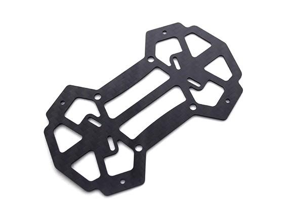 ダイヤトーンブレード150/180/200クラスマイクロマルチコプター炭素繊維底板